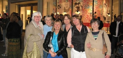 Good times with friends at a PWAC conference.