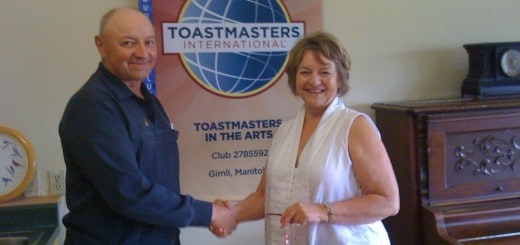 Toastmasters can benefit anyone.