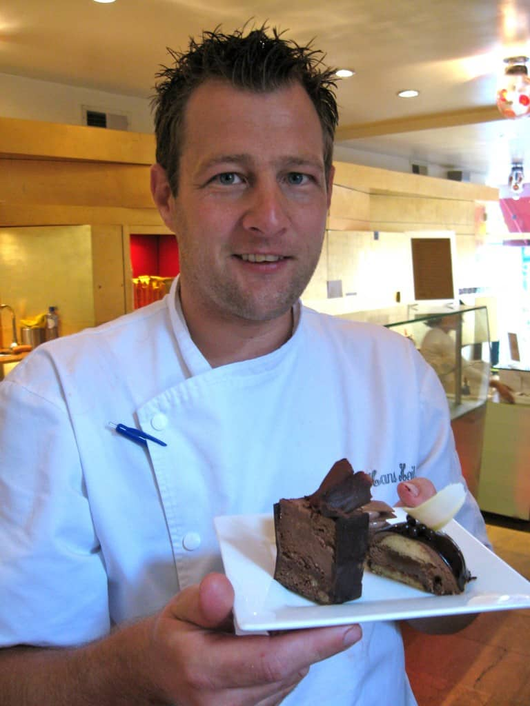 You'll find a great selection of chocolate in Amsterdam and some very charming people making it!