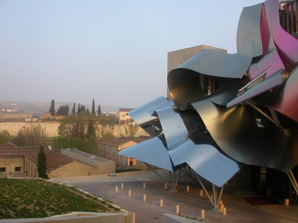 the Marques de Riscal property in Elciego, Spain