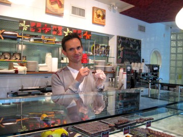 Thomas Haas of Vancouver has an amazing chocolate shop