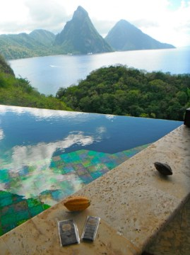 chocolate at Jade Mountain