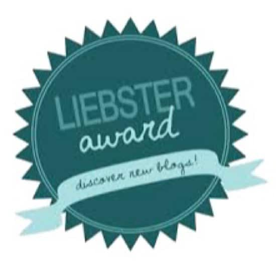 I was pleased to be awarded the Liebster Award for excellence in blogging.