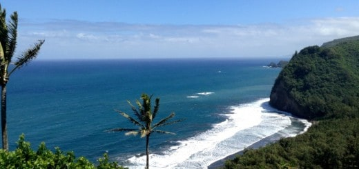 The Big Island of Hawaii offers many scenic vistas.