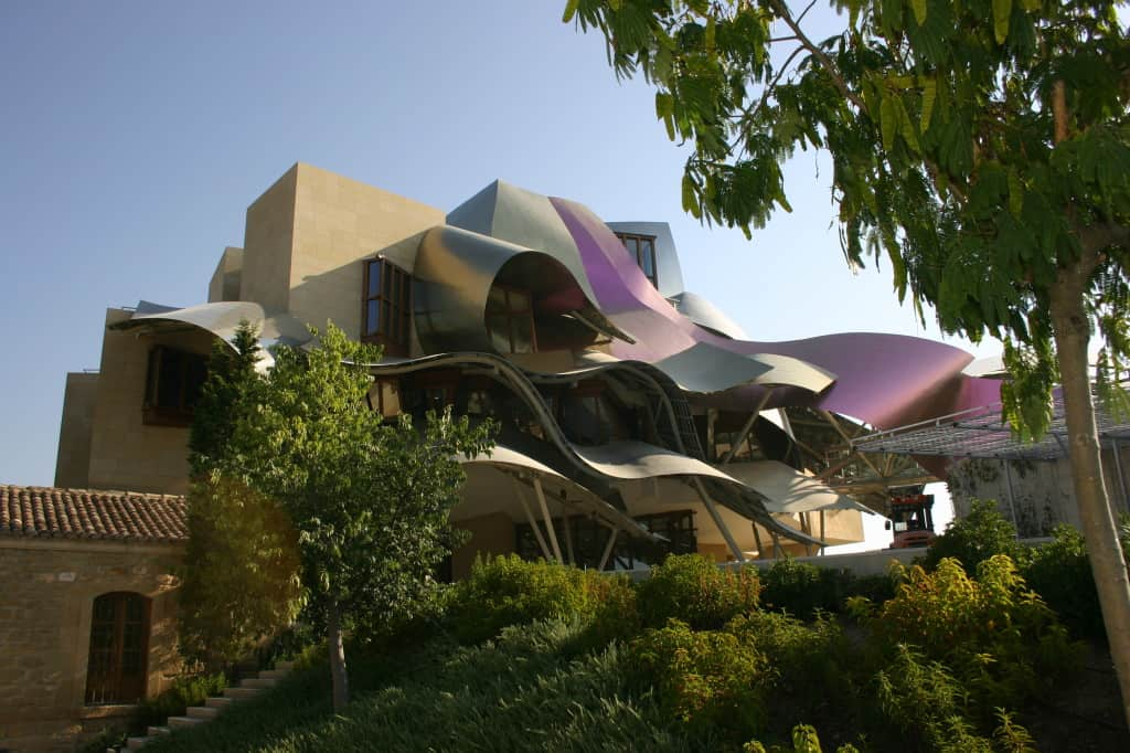 The Marquis de Riscal Wine Resort in El Ciego, Spain is one of the most incredible places I've ever stayed.