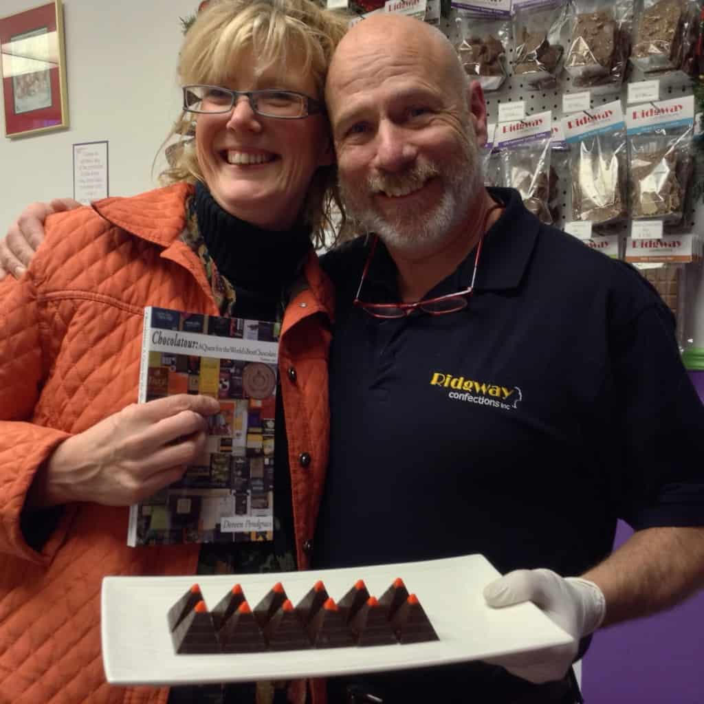 ridgway confections makes great chocolate in kingston ontario