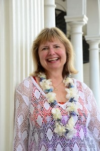 Doreen Pendgracs in Hawaii