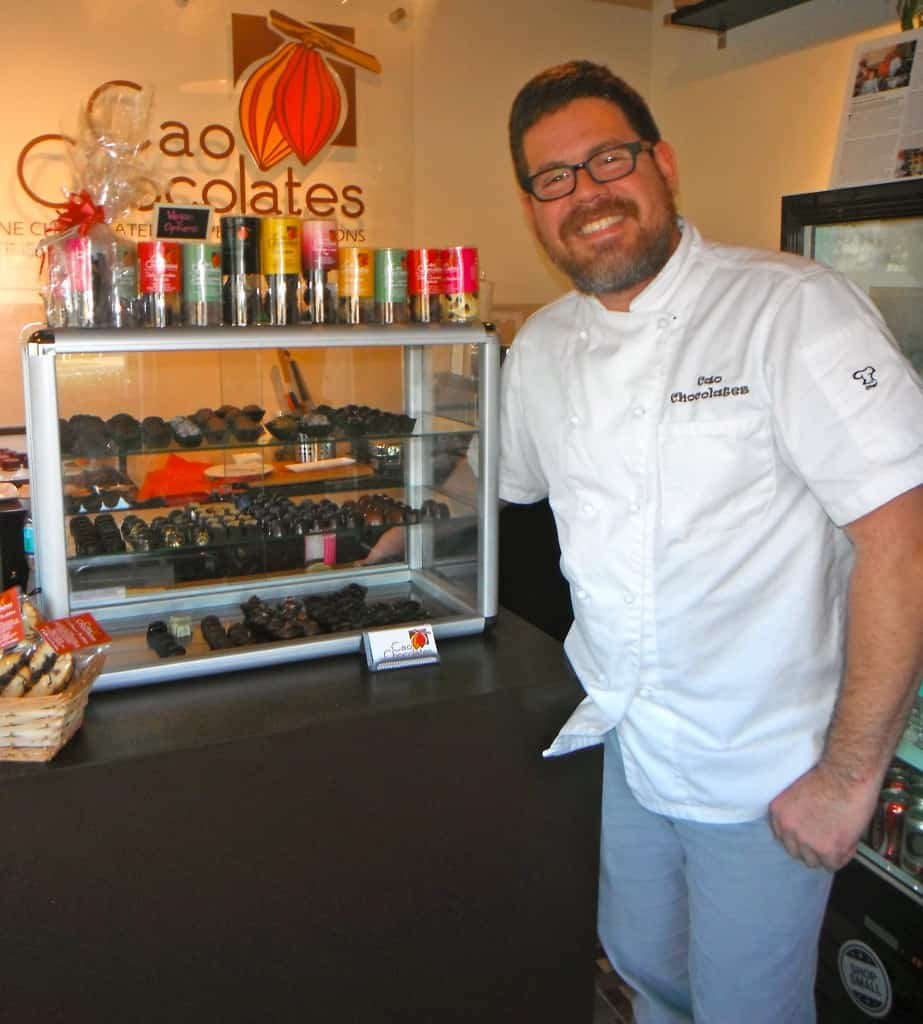 Ricardo of Cao Chocolates is a true master of chocolate.