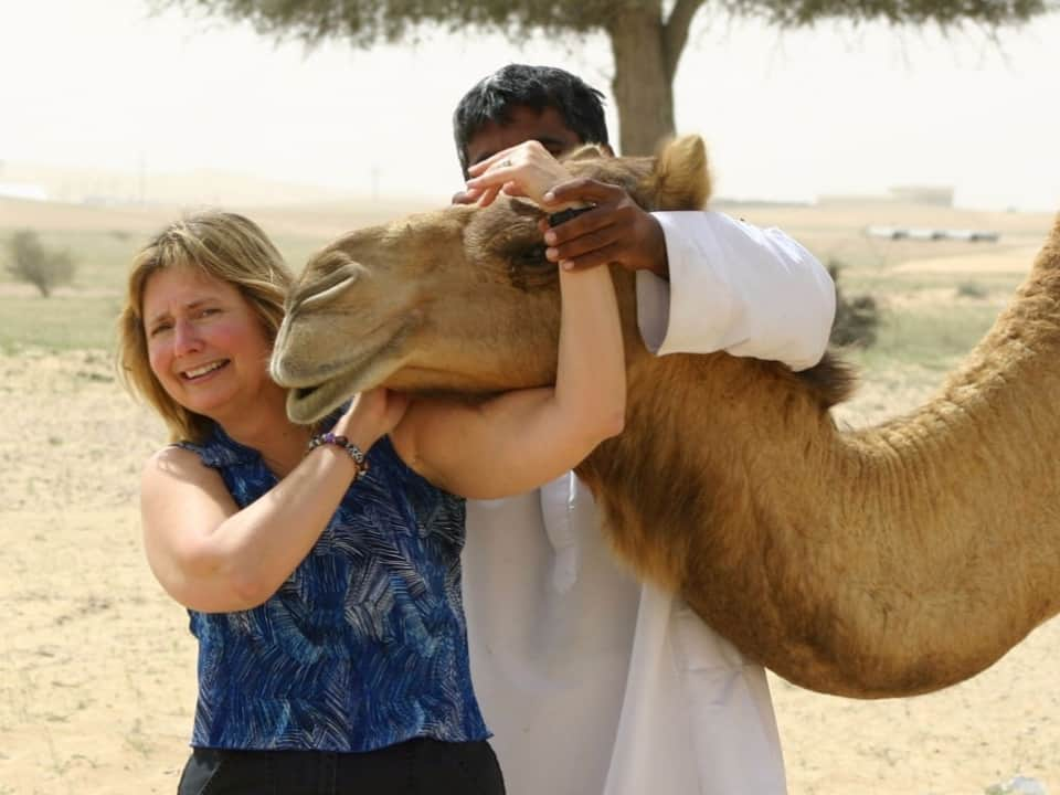 Doreen visited the United Arab Emirates in search of camel's milk chocolate