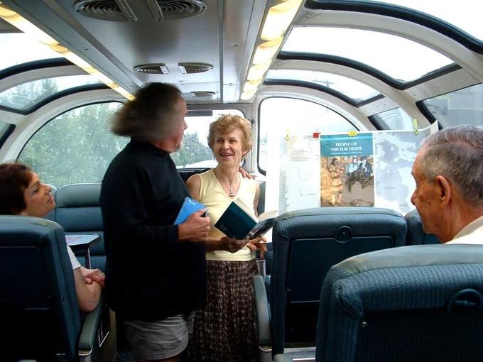 Irene-Ternier-Gordon-on-Via-Rail