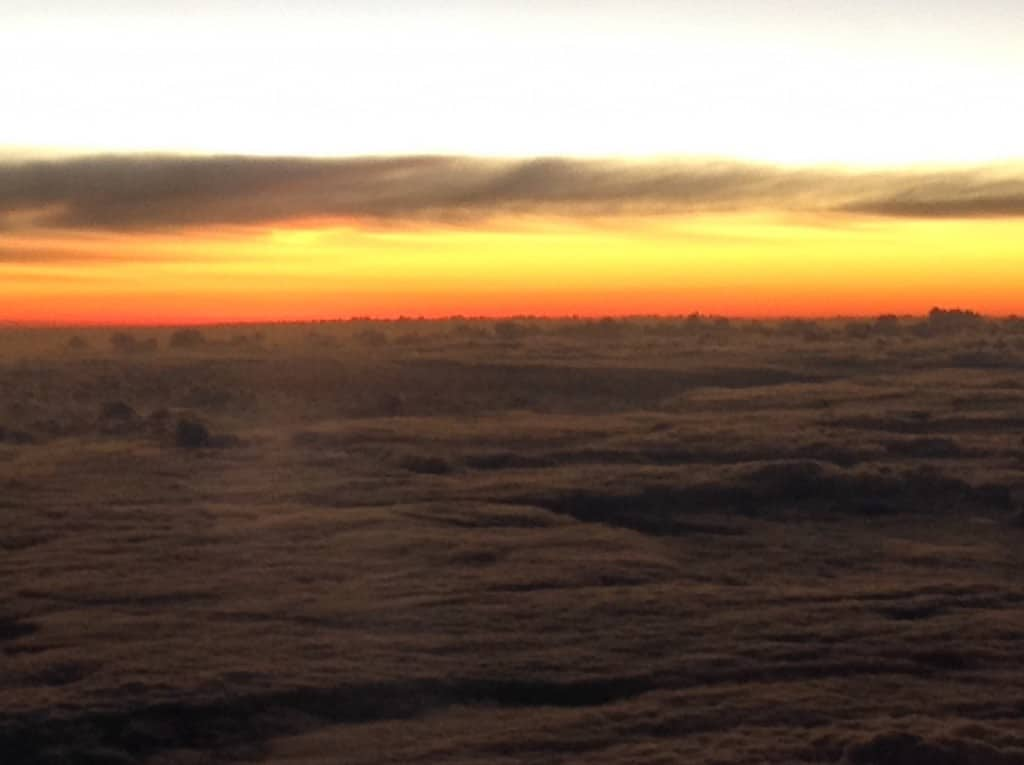 I took this shot from the plane window on a recent trip. It symbolizes the spirit of rejuvenation to me.