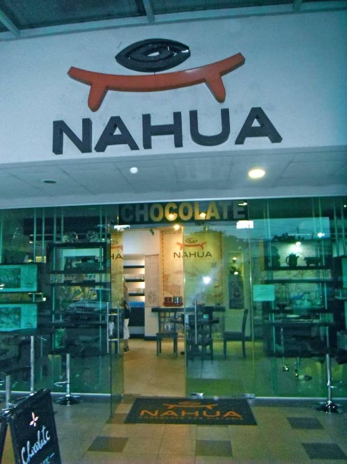 Nahua chocolate in san jose costa rica
