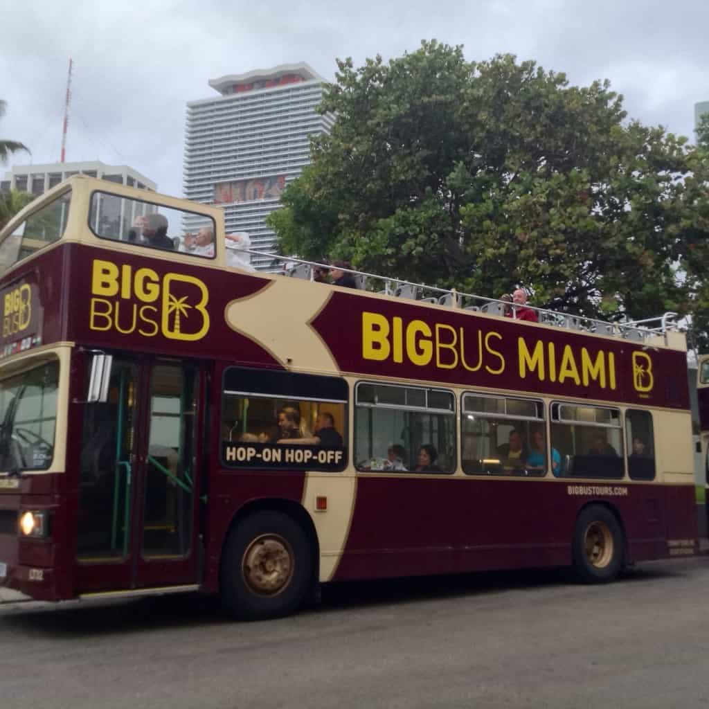 You can hop on and off the Big Bus as often as you like.