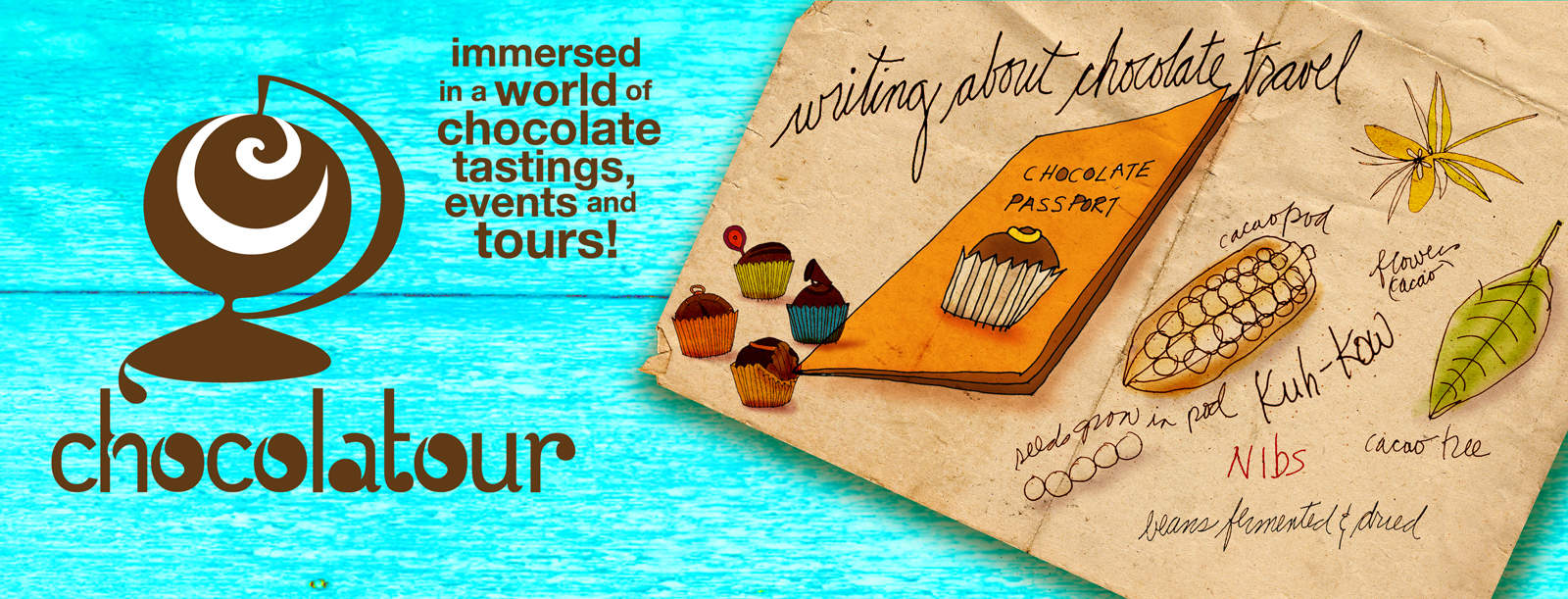 Chocolatour with Doreen Pendgracs | Chocolate Adventurist and Wizard of Words