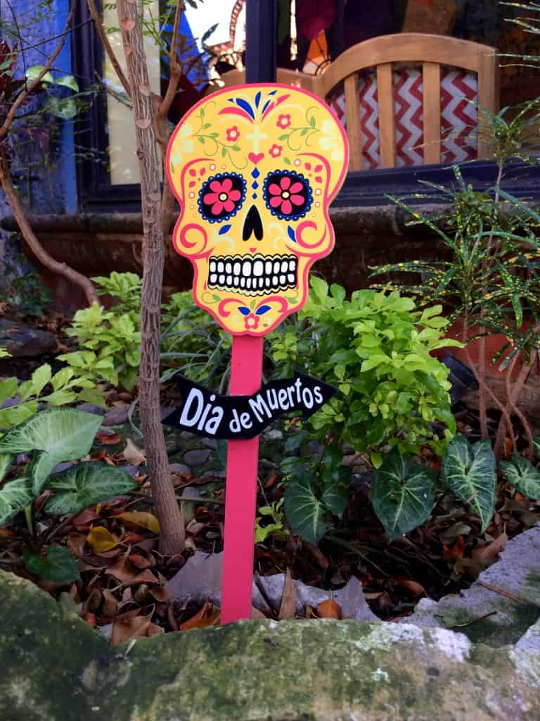 You'll see decorations like this all over Mexico